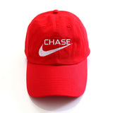Chase a check Cap in Red