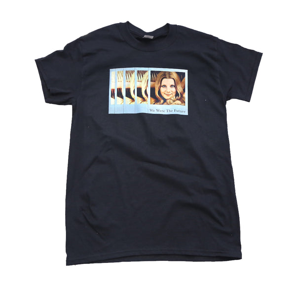 "Polaroid Tee Collaboration wit ""We Were The Future."""