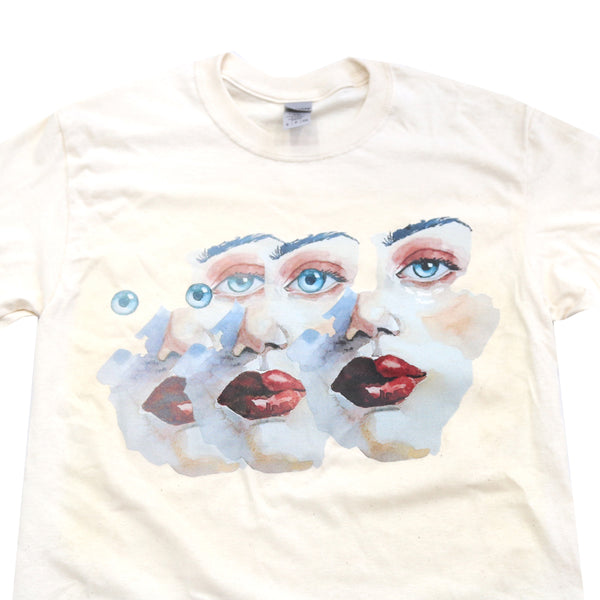 "The Eyes Tee collaboration wit ""We Were The Future."""