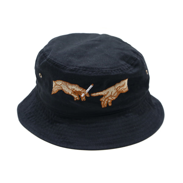 Pass the joint Bucket Cap in Black