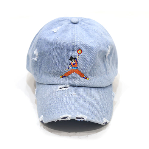 JumpBall Z Cap in Denim Distressed Blue