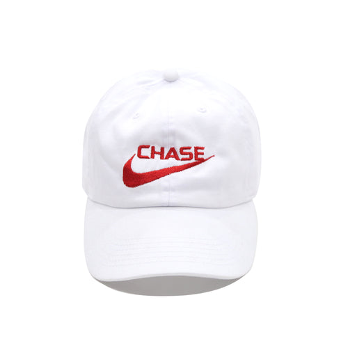 Chase a check Cap White/Red