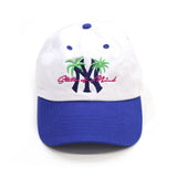 NY State of mind Cap in 2 Tone White/Blue