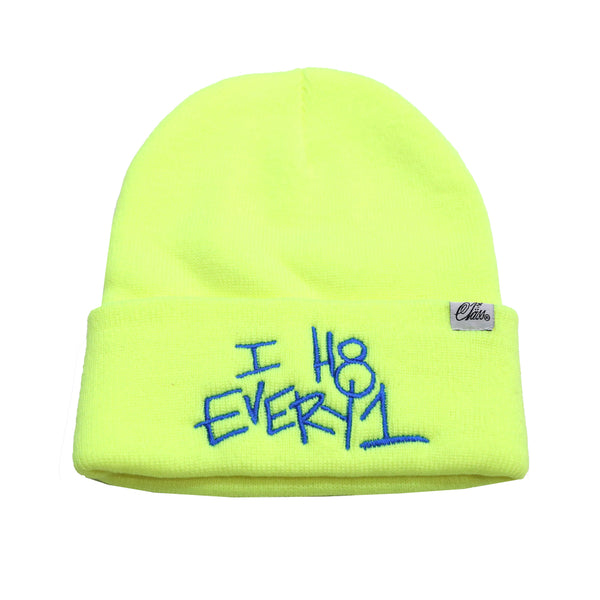 H8 Every1 beanie in Neon