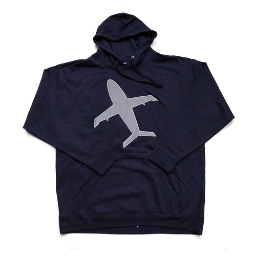 Big Airplane Hoody in Navy