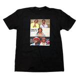 RAP TEE IN BLACK