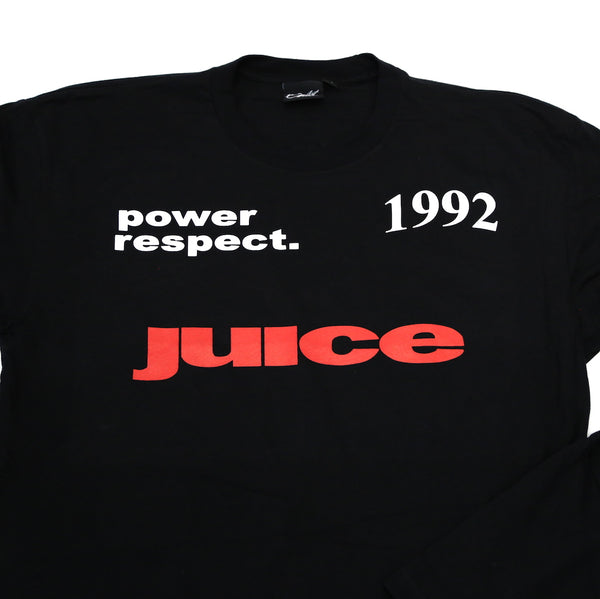 Who got the Juice Tee in Black