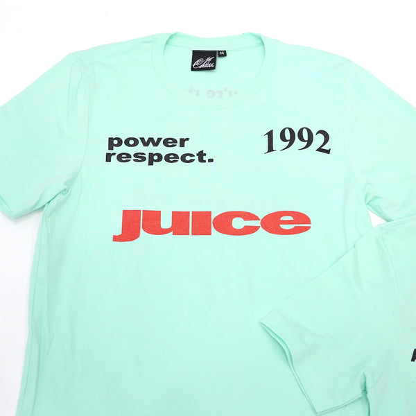 Who got the Juice Tee in Mint Green