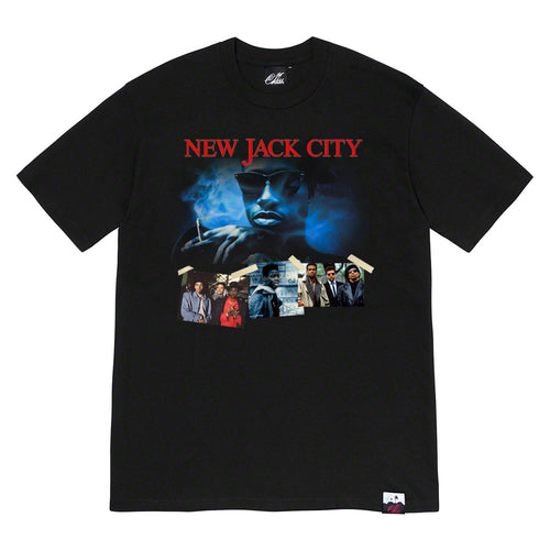 New Jack City Tee in Black