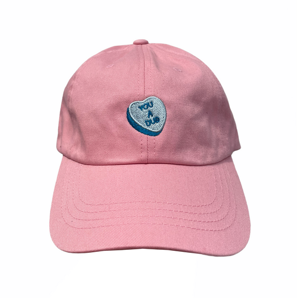 Dub Dad Cap in Soft Pink