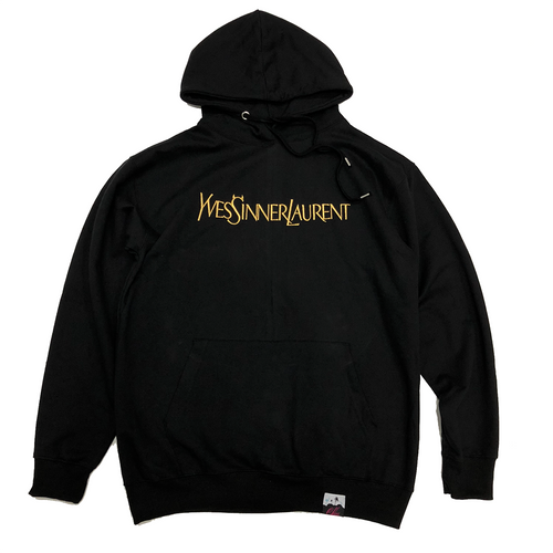 The SINNER Hoody in Black