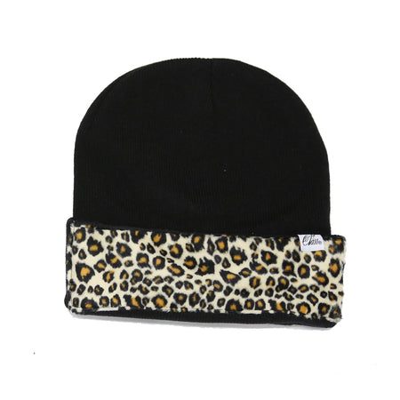 Flag Beanie in Black