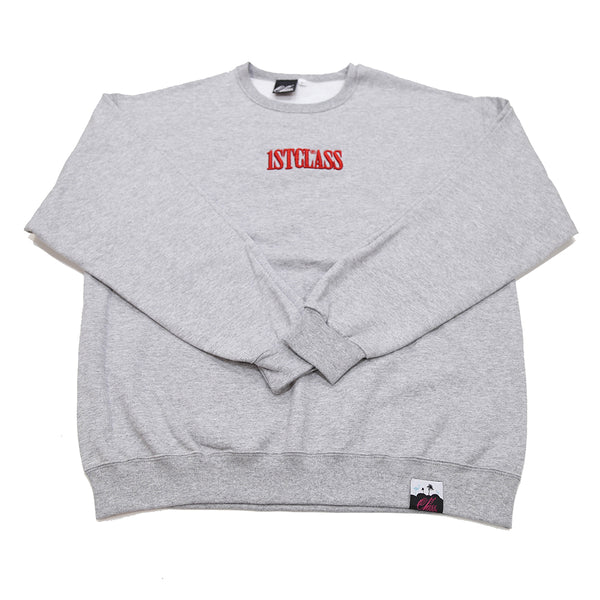 Capitol logo sweater in grey