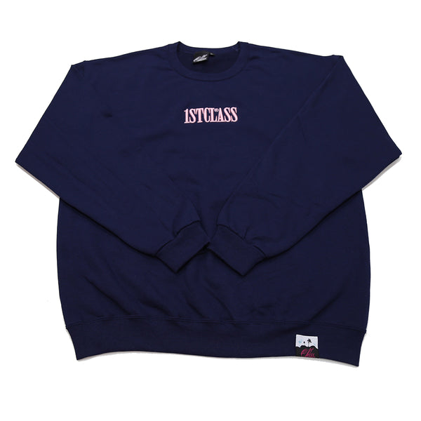 Capitol logo sweater in navy