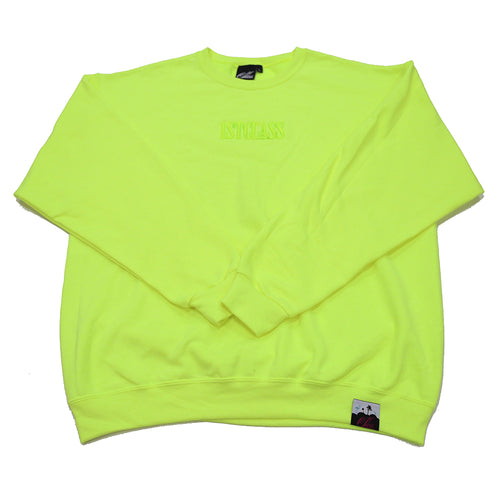 Capitol logo sweater in neon