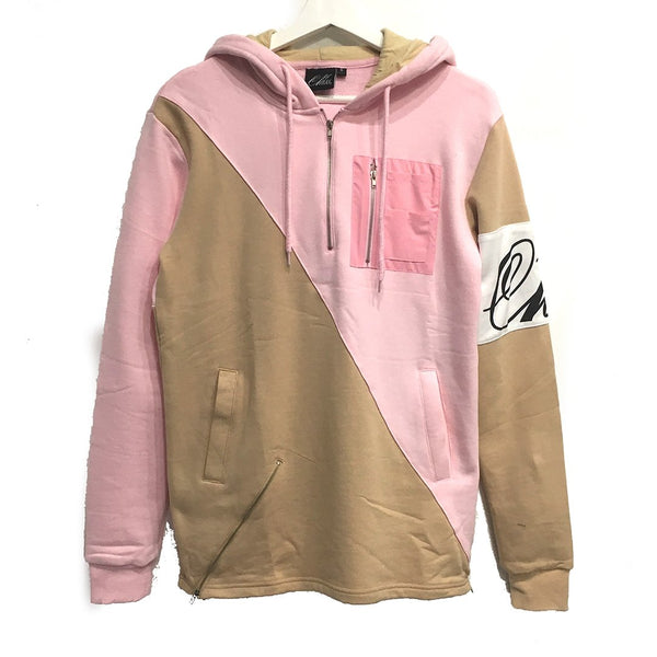 MA-1 Hoody in Pink + Cream