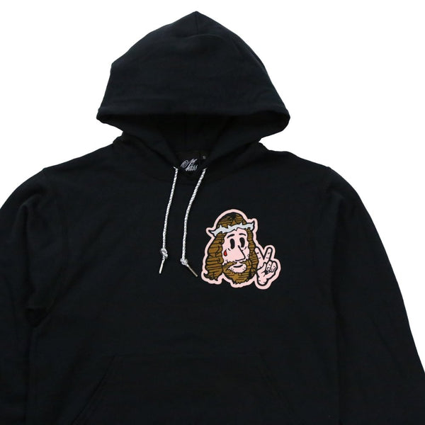 Jesus Peace Hoody in Black