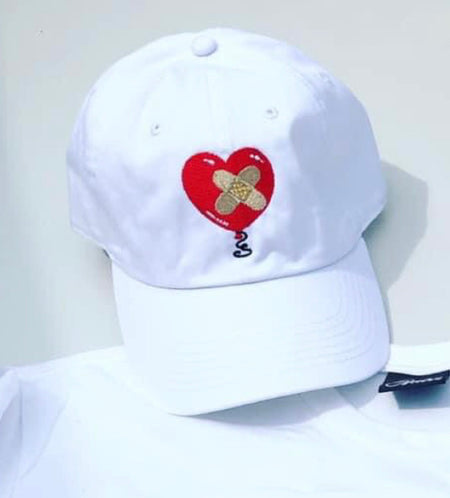Spread Love Cap in Black