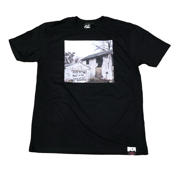 The Trap house shirt in Black