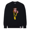 Hypnotize Sweater in Black