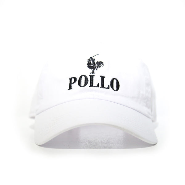 Pollo cap in white