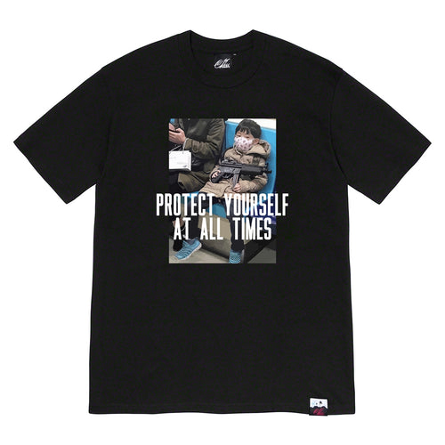 Protect yaself Tee in Black