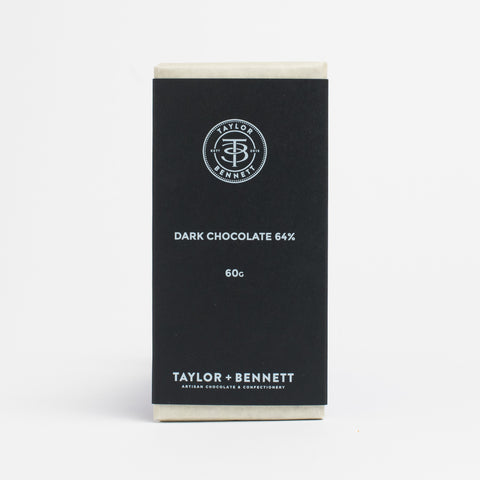 Dark Chocolate 64% - Taylor + Bennett Ltd