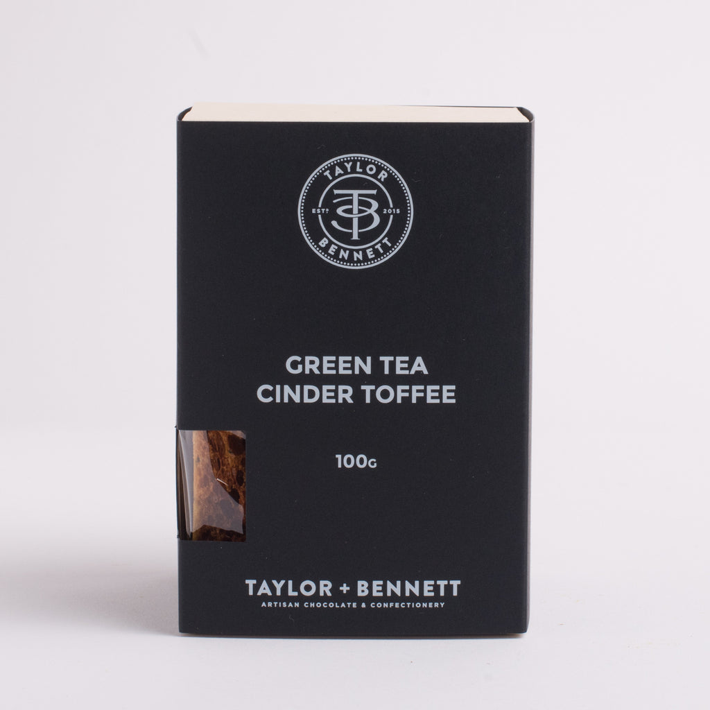 Green Tea Cinder Toffee - Taylor + Bennett Ltd