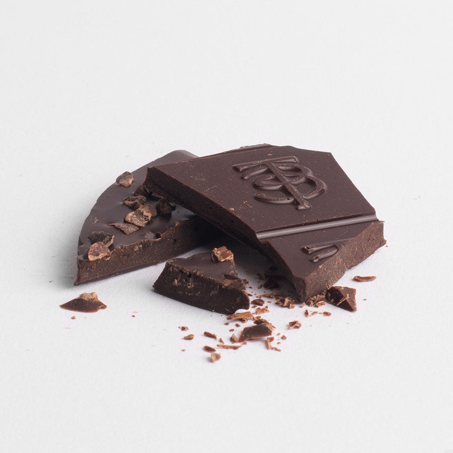 Dark Chocolate 70% - Coffee and Cacao Nibs - Taylor + Bennett Ltd