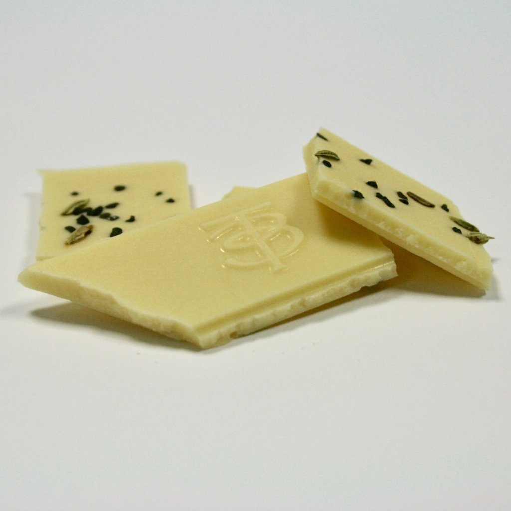 White Chocolate 35% - Fennel & Lava Salt