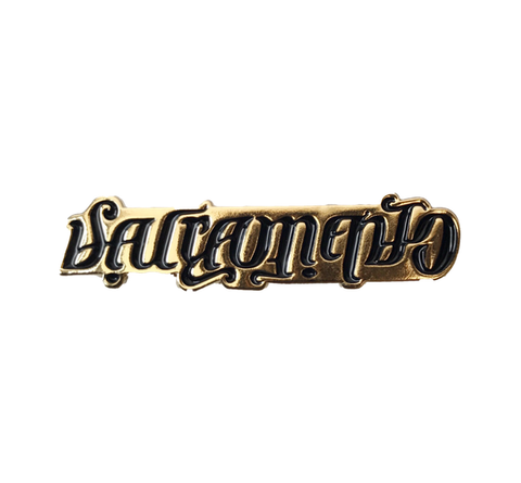 AMBIGRAM Lapel Pin