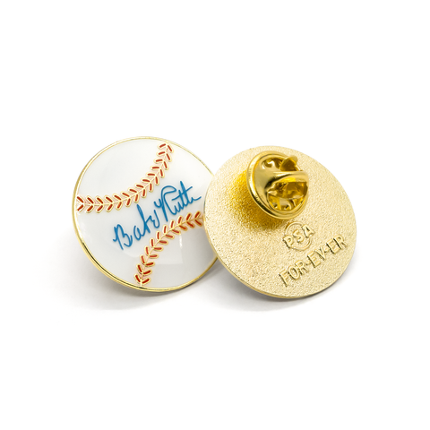 BABE RUTH BALL Pin