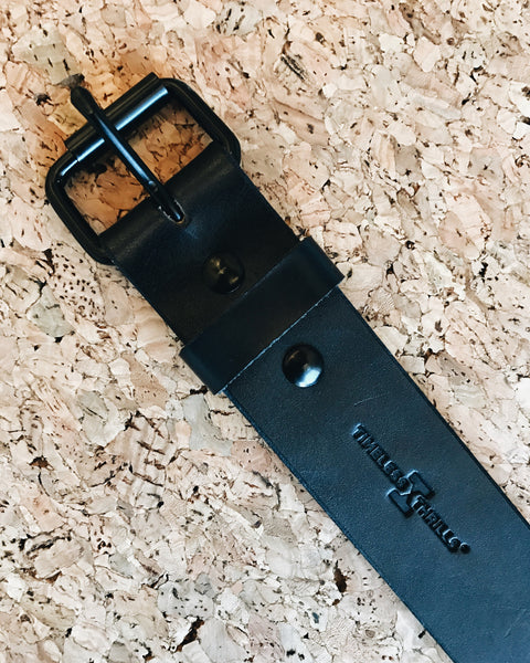 LEATHER Logo Belt