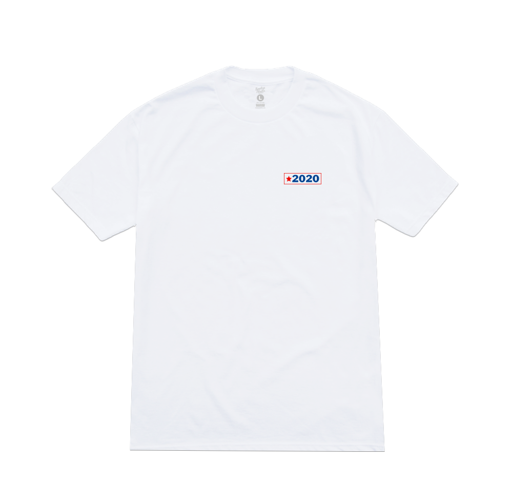 DON'T GET STUNNED Tee white