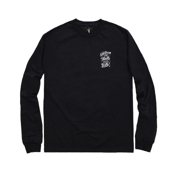 DO IT Longsleeve black