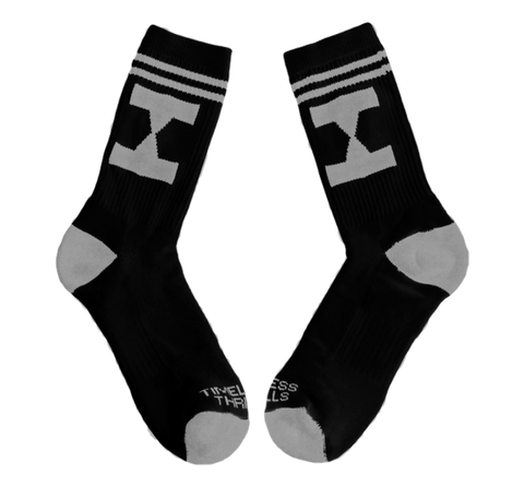 EHG Socks black/grey