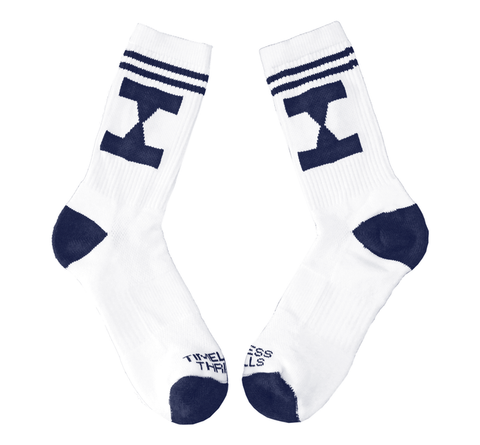 EHG Socks white/obsidian