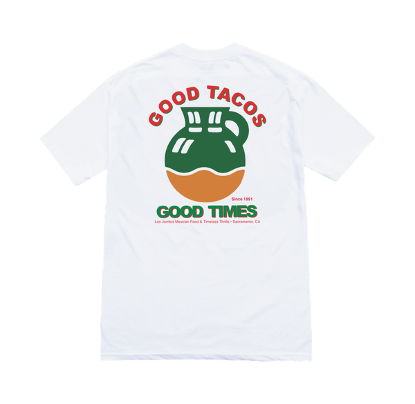 LOS JARRITOS Tee white