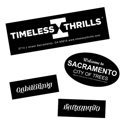 SACRAMENTO Sticker Pack