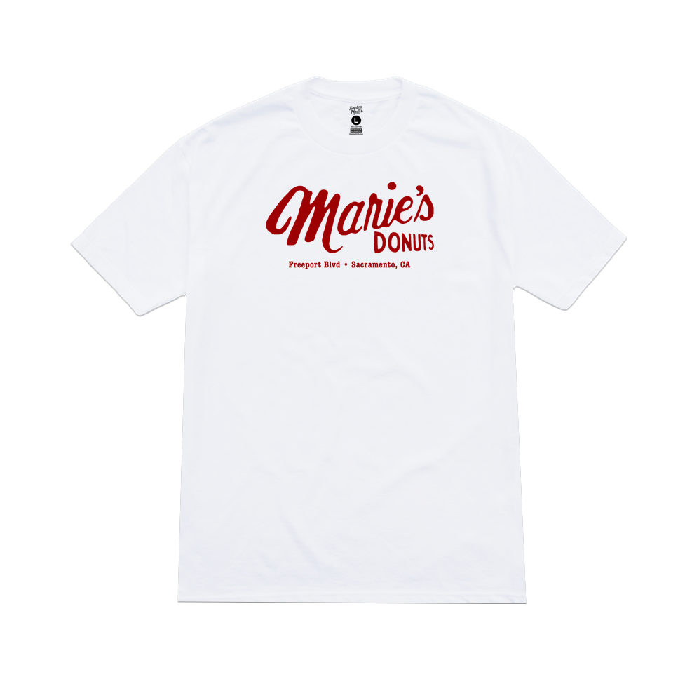 MARIE'S DONUTS Tee white