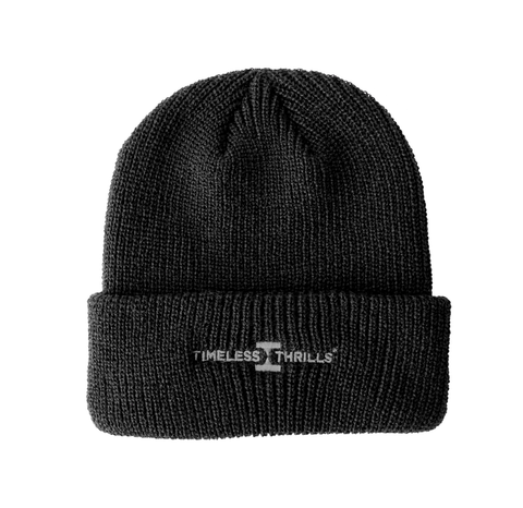 OG LOGO Cuffed Beanie black/grey