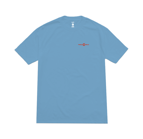 OG LOGO Tee light blue