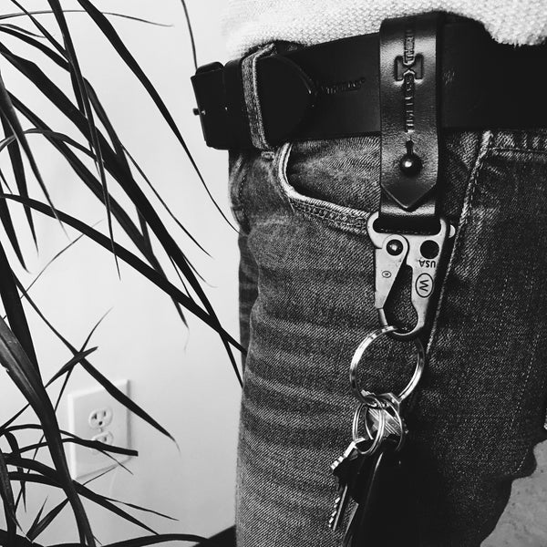 LEATHER Logo Ruck Strap