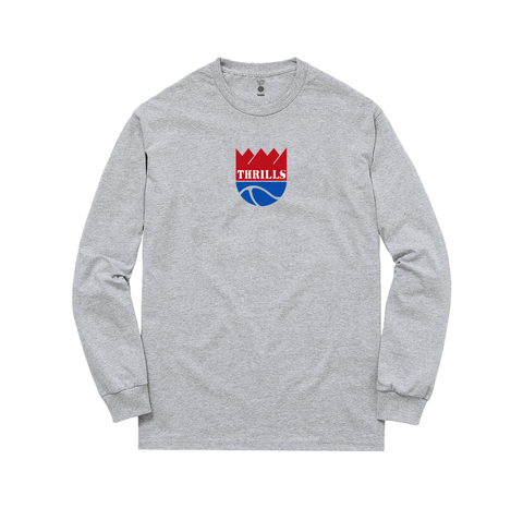 SAC THRILLS Longsleeve heather