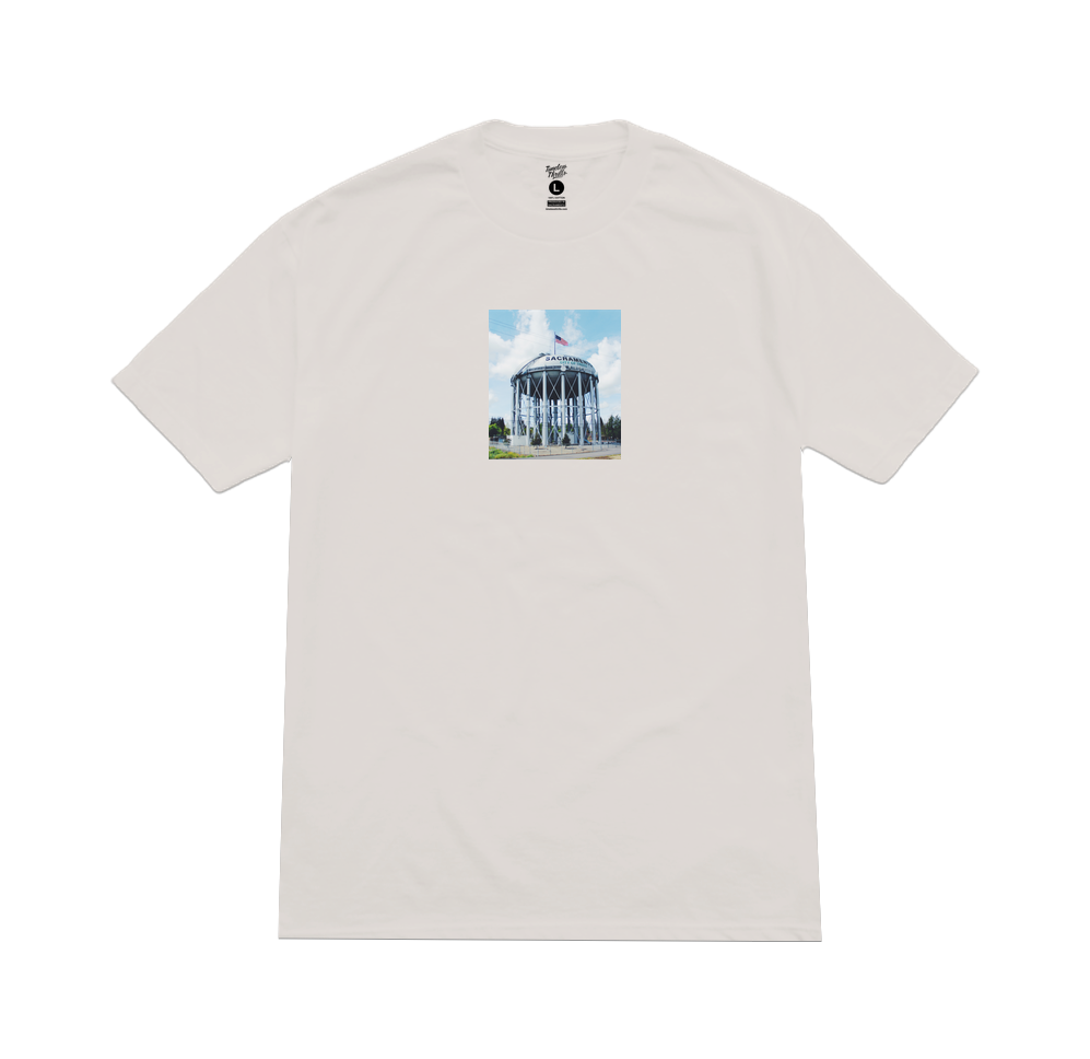WATER TOWER 2.0 Tee ice grey