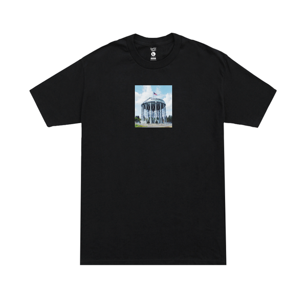 WATER TOWER 2.0 Tee black