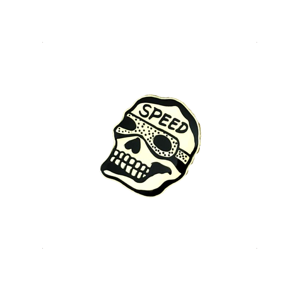 SPEED SKULL Pin