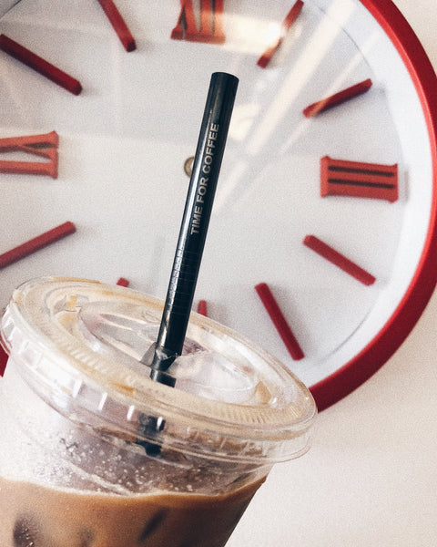 TIME FOR COFFEE Reusable Straw