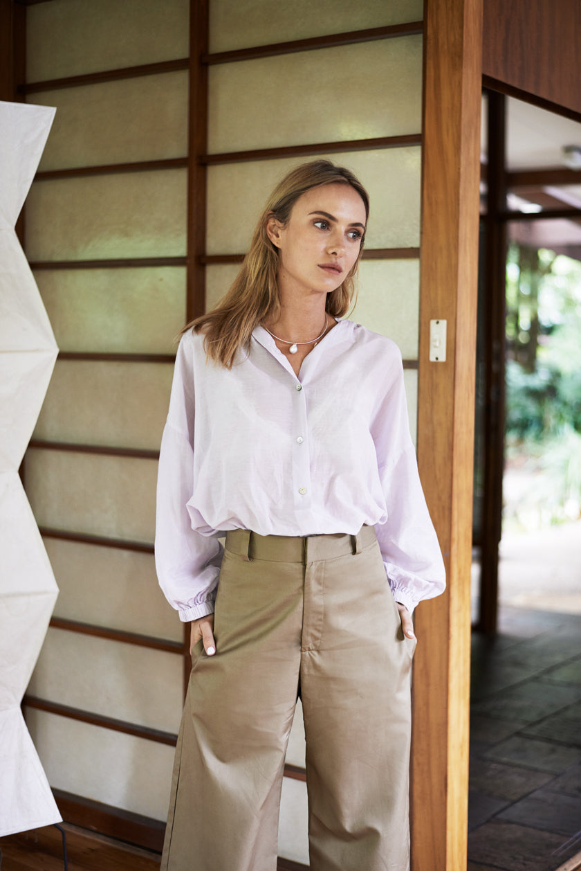 Everyday Blouse - Liberty | Washed Lilac