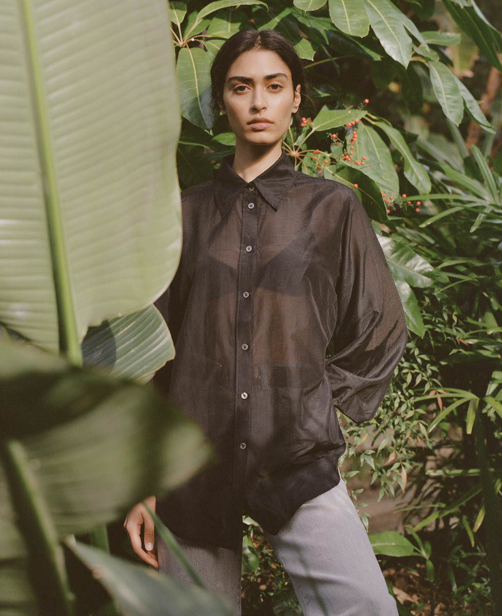 Billow Sleeve Shirt | Liberty | Black